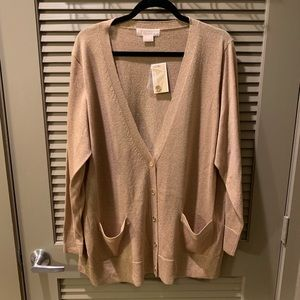 Brand new! Michael Kors cardigan